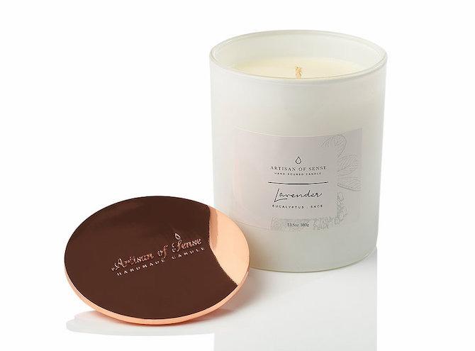 Artisan of Sense Lavender Eucalyptus Sage Candle