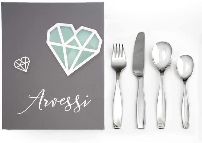 Arvessi Premium Stainless Steel Kids Cutlery Set