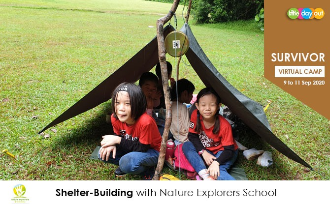 Super September Holiday Virtual Camps 2020: Survivor - Nature Explorers School
