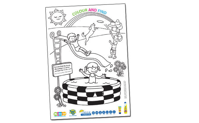 Colour and Find Activity Sheet