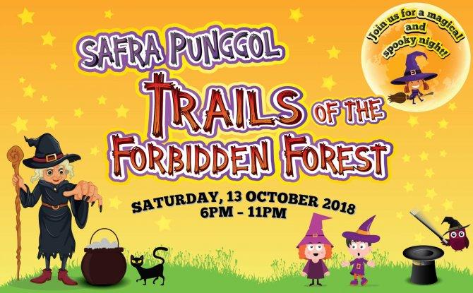 SAFRA Punggol's Trails of the Forbidden Forest