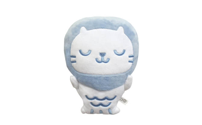 Baby Mer Mer the Merlion Plush Contented Serenity Blue $16.80, from theforestfactory.net