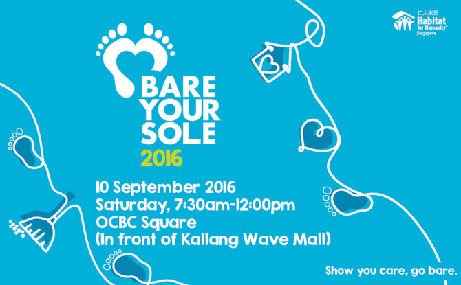 Bare Your Sole 2016