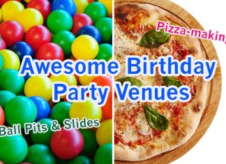 Awesome Birthday Party Venues In Singapore For An Unforgettable Celebration