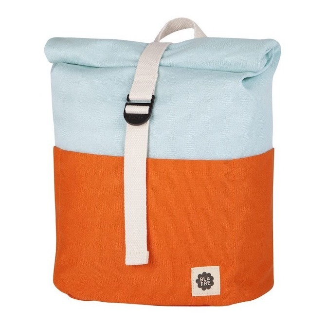 Blafre Roll Top Backpack Orange