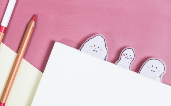March Stationery bookmark