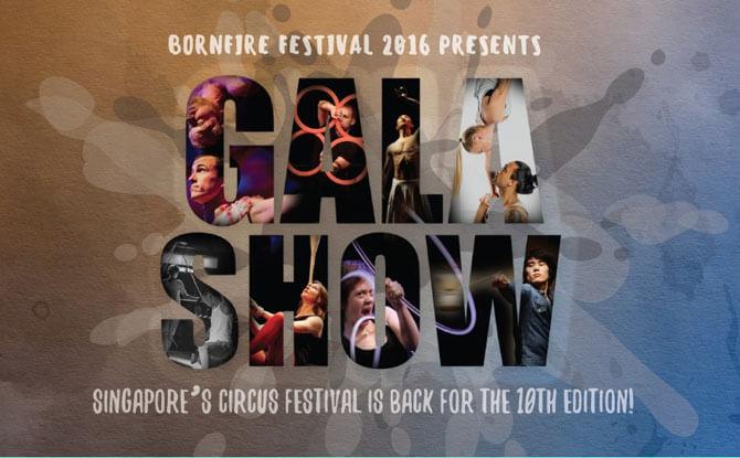 Bornfire Festival circus