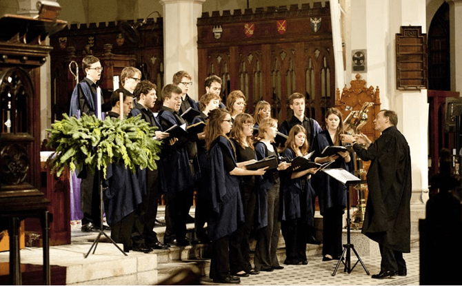 Britten – A Ceremony of Carols Choral Music for Advent and Christmas