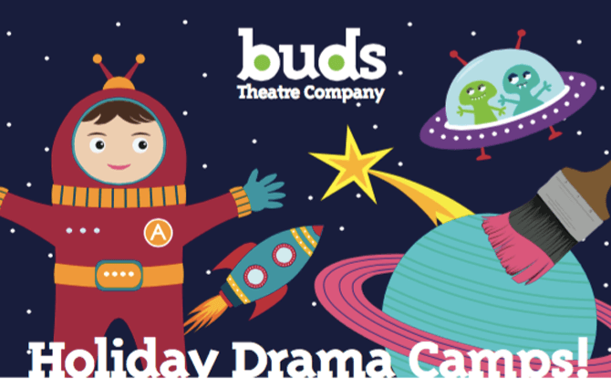 Buds Theatre Company Drama Camps for 5-12 Year Olds