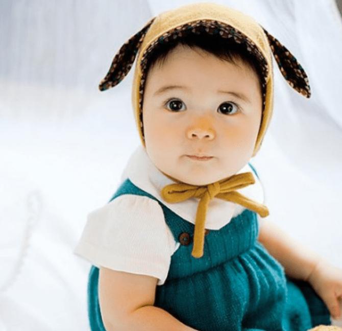 Bunny Long Ears Baby Hat