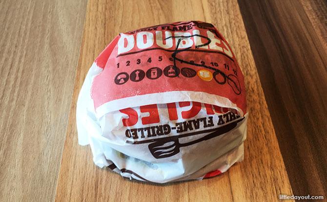 Burger King Rendang Beef Burger