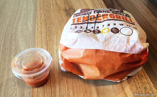 Hainanese Tendergrill Chicken Burger