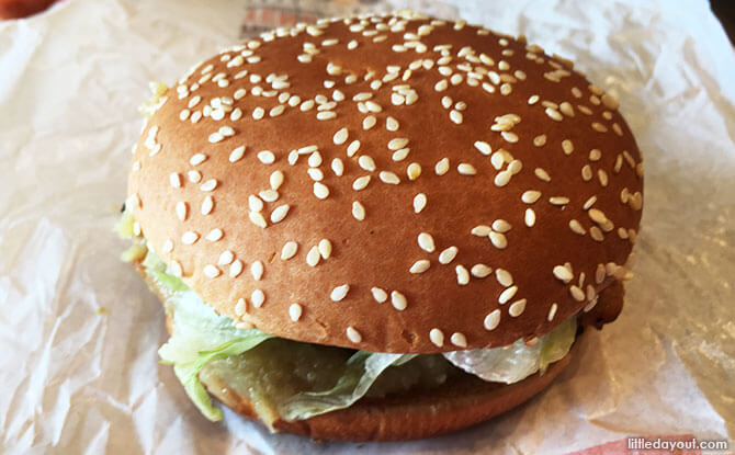 Burger King's Hainanese Tendergrill Chicken