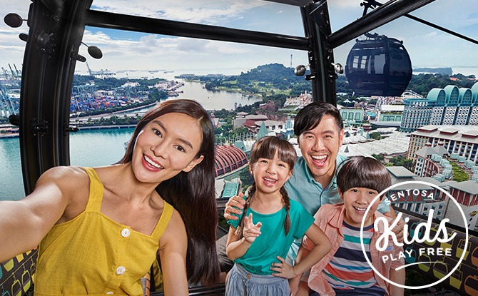 Sentosa Kids Play Free Deals This March 2021