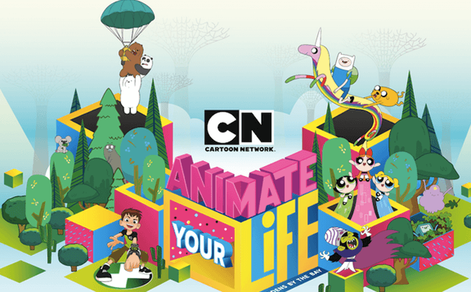 Animate Your Life: Cartoon Network's Festival At Gardens by the Bay