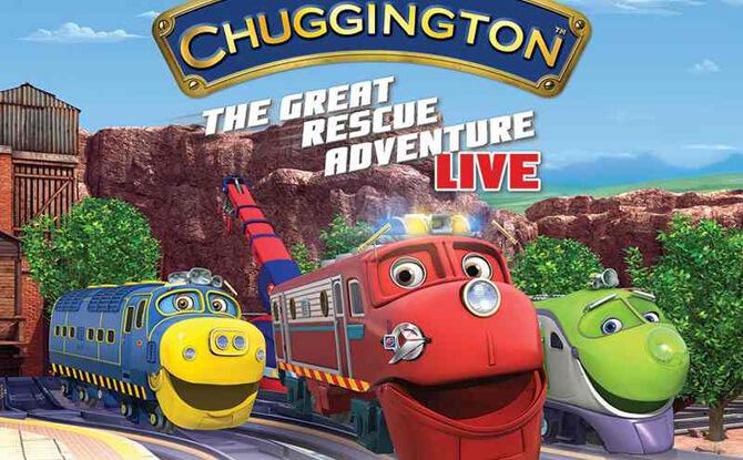 CHUGGINGTON LIVE! The Great Rescue Adventure