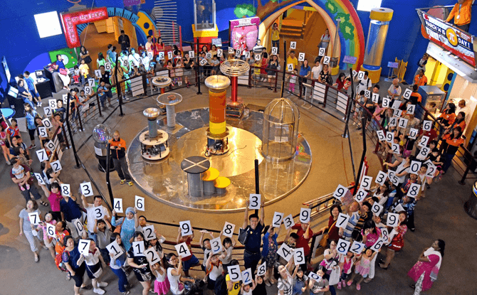 Festival of Numbers, Science Centre Singapore