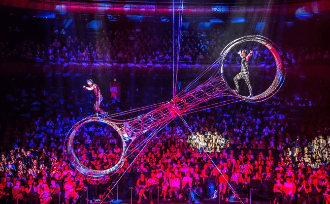 Cirque Adrenaline Wheel of Death