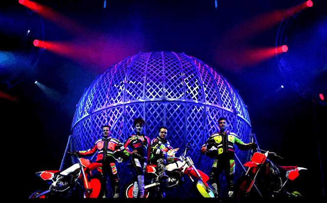 Cirque Adrenaline Marina Bay Sands