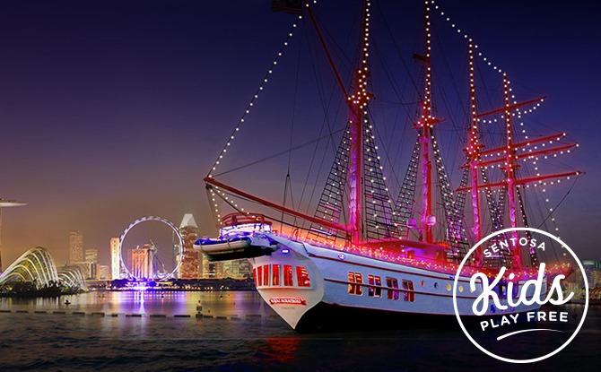 Royal Albatross City Lights Dinner Cruise