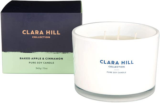 Clara Hill Collection Baked Apple & Cinnamon Candle