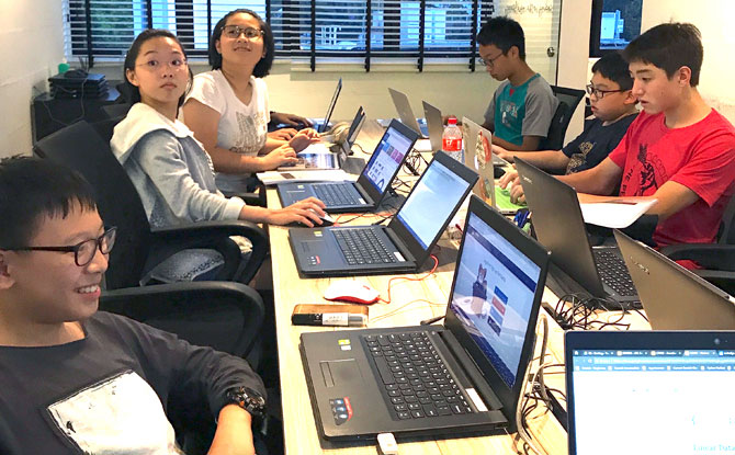 Coding Lab, Coding Classes in Singapore