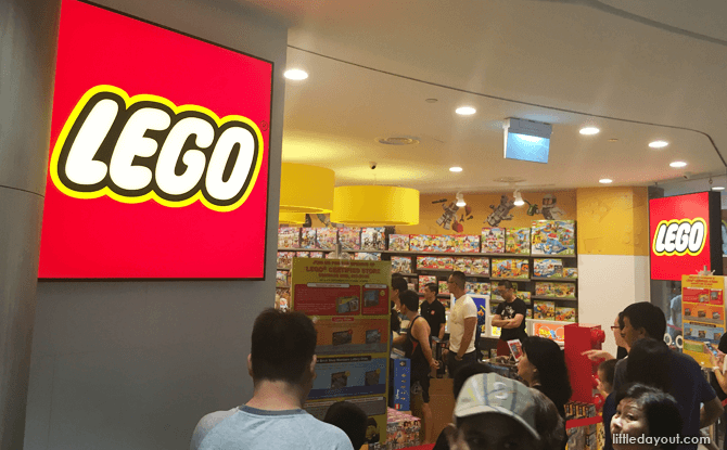 Compass One Lego store