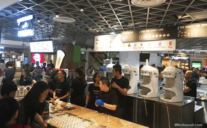Compass One food court