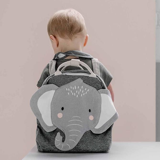 Cotton Animal School Backpack