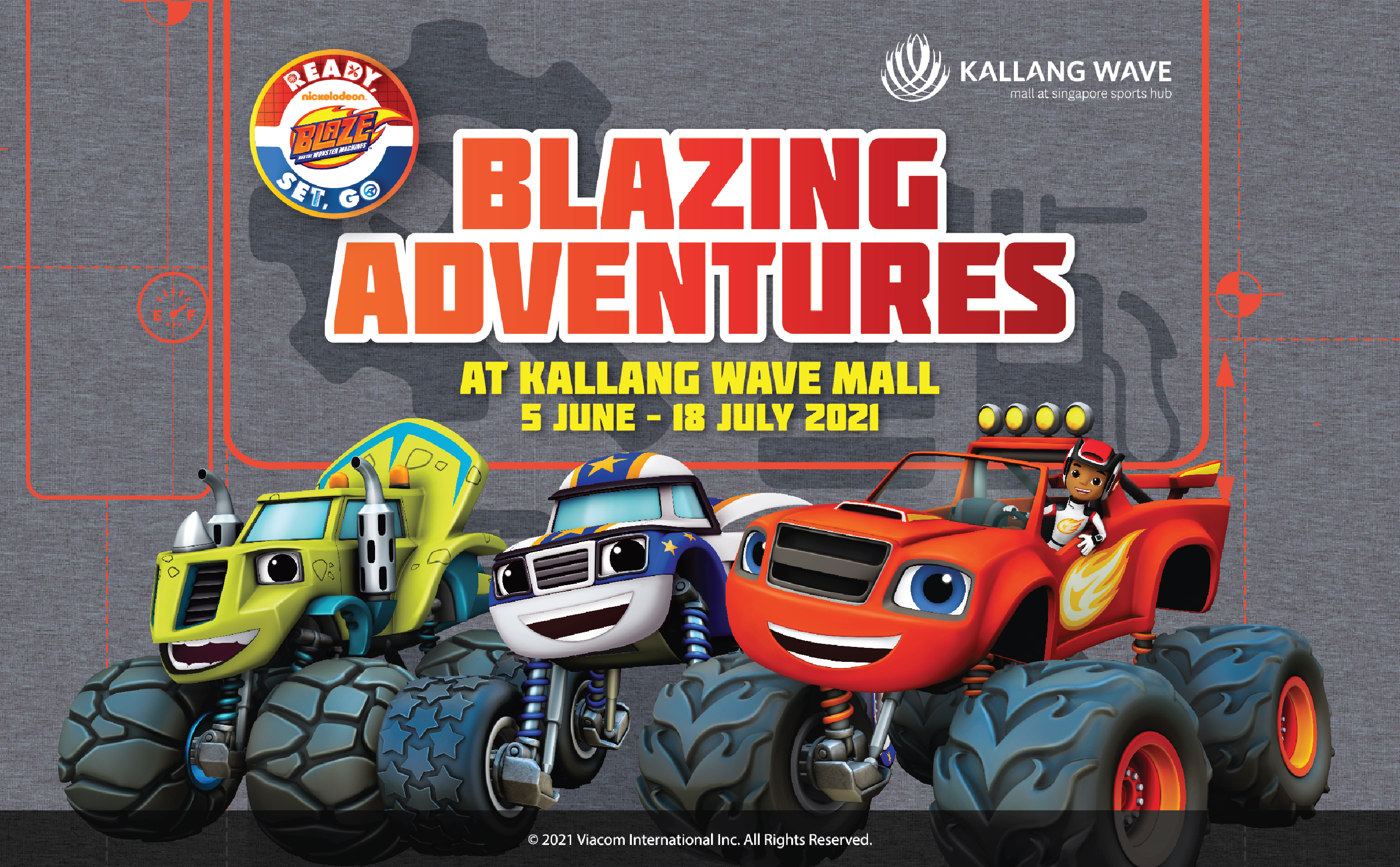 Blazing Adventures At Kallang Wave Mall