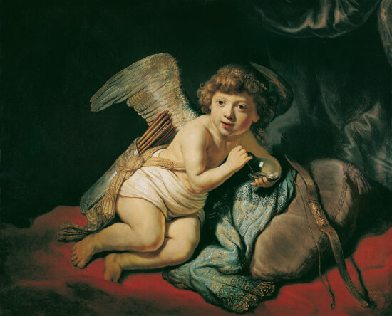 Cupid with the Soap