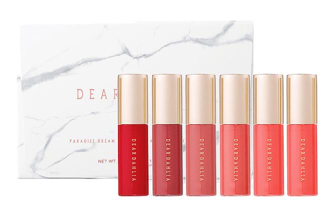 Dear Dahlia Mini Paradise Dream Velvet Lip Mousse 6-piece Set