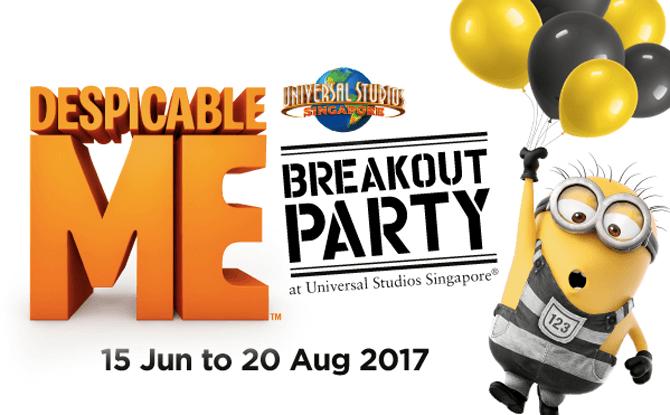 Despicable Me Breakout Party