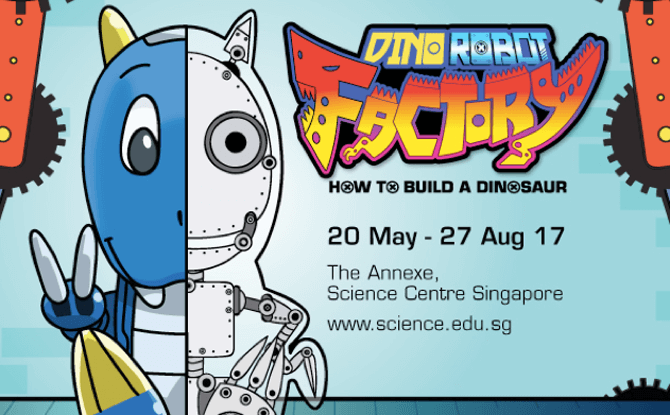 Science Centre Dino Robot Factory