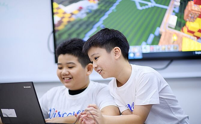 Discovery Camps Coding Winter Holiday