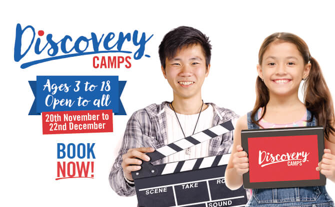 Discovery Camps November and December Holiday Programmes 2017