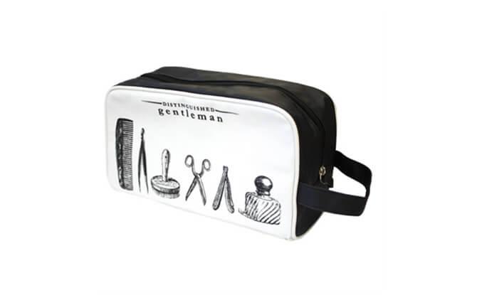 Distinguished Gentleman Wash Bag $48, from paper-clip.com.sg