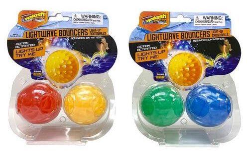 Diving Masters Lightwave Bouncers Light-Up Skimmballs