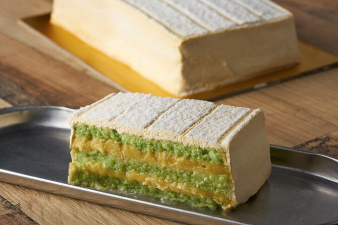 Durian Pengat Cake