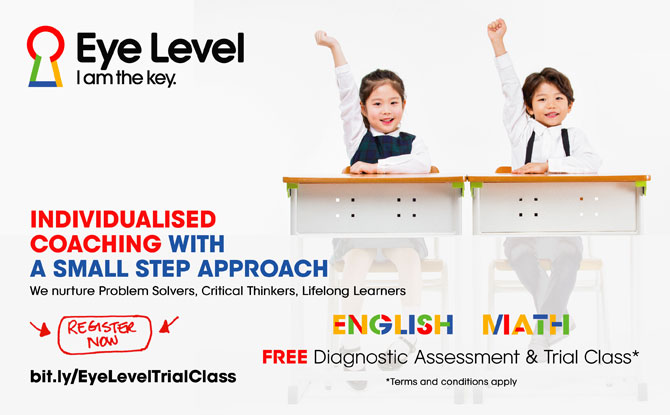 Eye Level Free English & Math Diagnostic Assessment & Trial Class