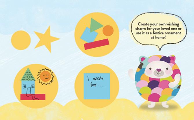 Kids Craft: My Festive Wishing Charm