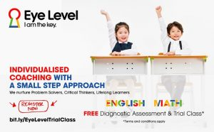 Eye Level - Your Child's First Step to Success!