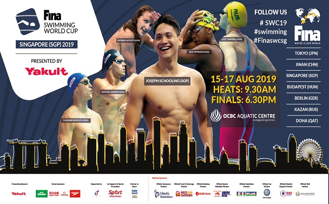 FINA Swimming World Cup 2019 1