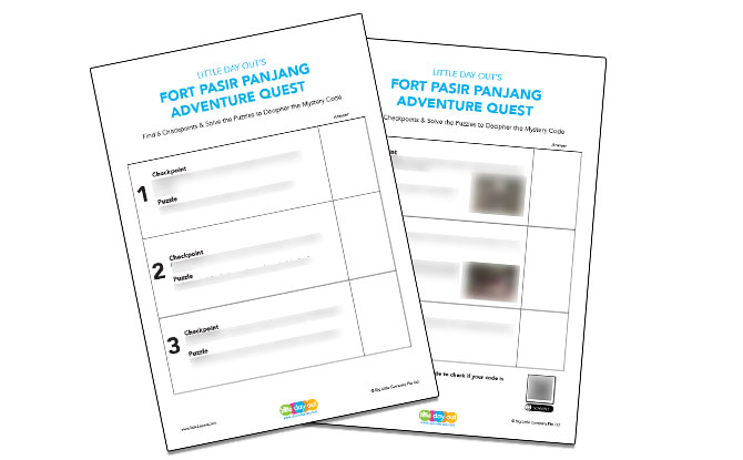 Fort Pasir Panjang Adventure Quest: Go On Your Own Adventure