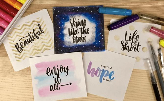Faber Castell Brush Lettering Workshop