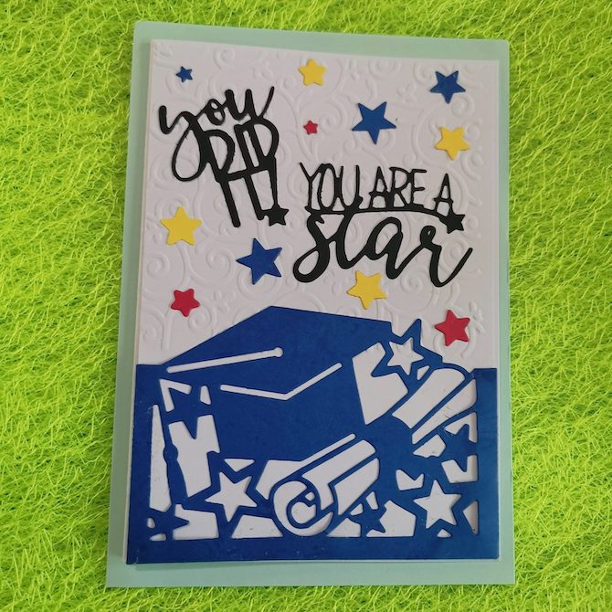 Fairmarch greeting card
