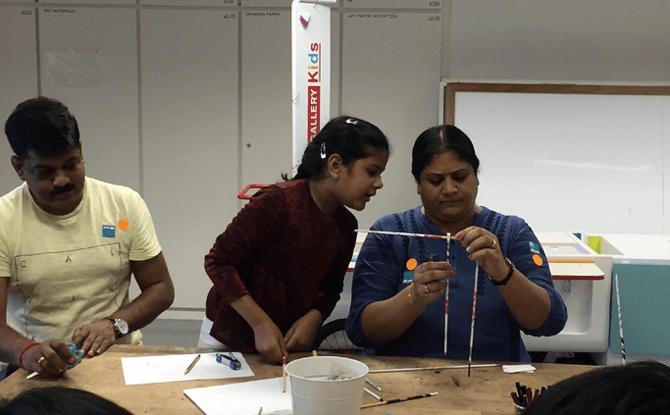 Family Art Workshop – 10 Nov 2018