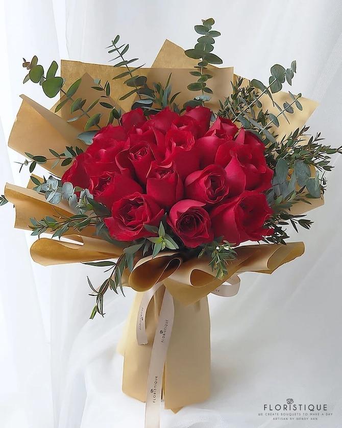 Floristique flower bouquet