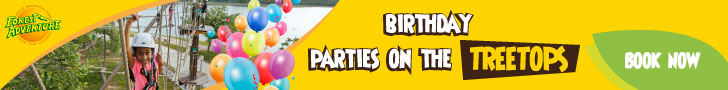Forest Adventure Leaderboard Banner 3: Birthday Party on the Treetops