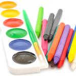 Crayons Watercolour